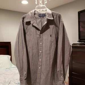 Ralph Lauren Custom Fit Button Down Shirt